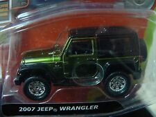 10Vox Tracksters 2007 Jeep Wrangler 1:64 Series 2 Limited Edition Green Toy SUV