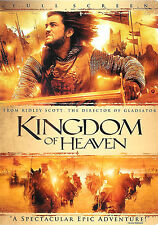 Kingdom of Heaven ~ 2-Disc DVD dts Full Screen with Slip Cover FREE Shipping USA