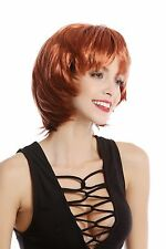 Parrucca, Parrucca Donna Carnevale Halloween corto Rot Rame rosso Anni 80