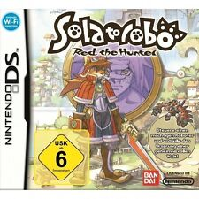 Nintendo DS juego-solatorobo: red the Hunter (con embalaje original)