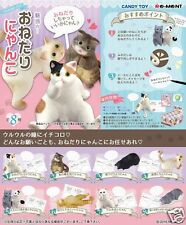 Re-ment Japan Dollhouse Miniature Message Cat Kitty rement Full set of 8