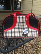 Dog/Cat/Pet/Carrier/Purse/Tote/Bag - Petote Bali2 Scottish Plaid - NEW