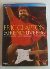 DVD ERIC CLAPTON & FRIENDS - LIVE 1986 - Phil COLLINS / Nathan EAST