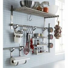 Ikea Kitchen Storage Organization Accessories Stainless Steel Kitchen Organizer