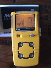 BW Gas Alert MicroClip XL Multigas Gas Monitor Detector Meter H2S,LEL,CO,O2