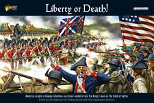 LIBERTY OR DEATH AMERICAN WAR OF INDEPENDENCE BATTLE SET - BLACK POWDER -WARLORD