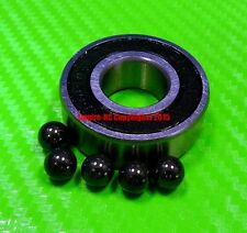[QTY 1] (10x26x8 mm) S6000-2RS Stainless HYBRID CERAMIC Ball Bearings BLK 6000RS
