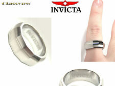 INVICTA STAINLESS STEEL UNISEX RING 2506XL SIZE 11 EXTRA LARGE $315 retail!