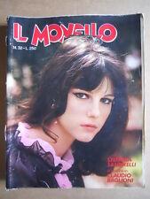 IL MONELLO n°32 1974 Stefania Sandrelli - Inserto Claudio Baglioni  [G424]