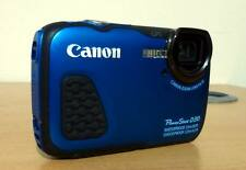 Canon PowerShot D30 point and shoot gps appareil photo numérique-bleu