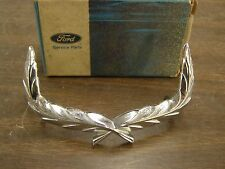 NOS OEM Ford 1969 Galaxie 500 XL Hood Ornament Wreath