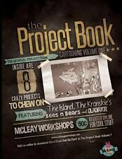 The Project Book Cartooning Volume 1 by Rob Mcleay (2013, Paperback)