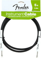 New Fender Performance Series 5 Foot Instrument Cable (5 ft Guitar Lead)