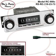 RetroSound 67-72 Chevy Trucks RC900c Radio/3.5mm AUX-In for ipod/Push Button