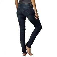 Fox Racing Women's Snake Eyes Skinny Jeans / Midnight / Size 7 / Retail $90