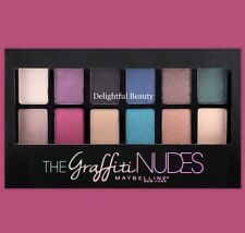 Maybelline THE GRAFFITI NUDES Eye Shadow Palette Sealed~DELIGHTFUL BEAUTY
