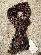 PAUL SMITH SIGNATURE MULTI-STRIPE MENS SCARF- BNWT