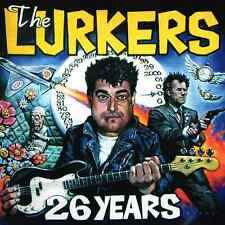 THE LURKERS - 26 YEARS - (brand new LP in blue vinyl) - NO PITY 001