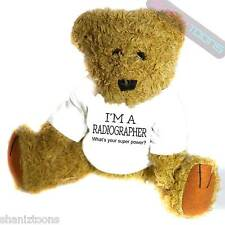 Radiographer Novelty Gift Teddy Bear