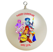 Personalized Doodlebops Christmas Ornament Add Name