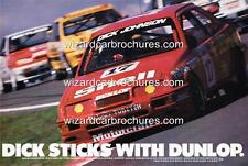 1988 DICK JOHNSON FORD SIERRA A3 POSTER AD SALES BROCHURE ADVERTISEMENT ADVERT
