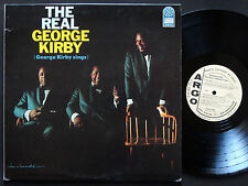 GEORGE KIRBY The Real George Kirby LP ARGO RECORDS DJLP4045 US '65 DG MONO PROMO