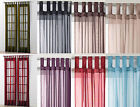"""Tab Top Voile Net Panel. Drops 48"""" 54"""" 63"""" 72"""" 81"""" 90"""". In 10 Colours"""