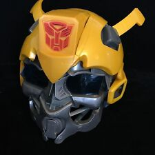 Transformers BUMBLEBEE Voice Changing Helmet Mask Yellow Hasbro Electronic Sound