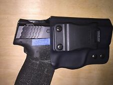 IWB Holster - S&W M&P Shield 45 - Adjustable Retention - 0 Deg Cant