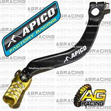 Apico Black Yellow Gear Pedal Lever Shift For Suzuki RM 250 2001-2008 Motocross