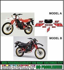 kit adesivi stickers compatibili xt 600 43f 1984