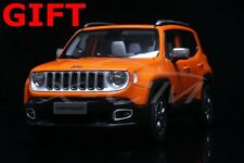 Car Model All New Jeep Renegade Limited 1:18 (Orange) + SMALL GIFT!!!!!!!!!