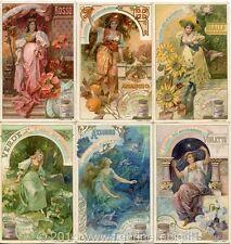 Chromo Liebig Sang. 662 ITA I Colori dell'Arcobaleno ANNO 1901