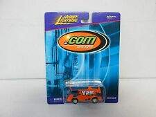 Johnny Lightning .Com Racers VW Bus Y2K