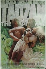 Tarzan the Ape Man Original Single Sided Movie Poster Bo Derek Richard Harris