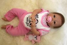 2017 cheap real vinyl reborn baby dolls for sale