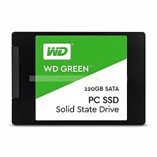 "Western Digital SSD 120GB WD Green 2.5"" 7mm 540MB/s Read Solid State Drive ct"