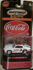 Matchbox Collectibles Coca Cola 1970 Pontiac GTO (Sports Theme Play Refreshed)