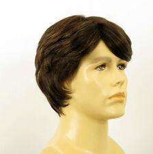 Perruque homme 100% cheveux naturel châtain ref OLIVIER 6spw