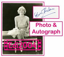 "DOROTHY DICKSON Vintage Original 1921 ""Paying The Piper"" Photo & AUTOGRAPH CARD"