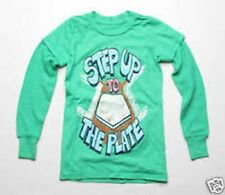 Made U Look Kids Step Up To The Plate Tee (3) Green