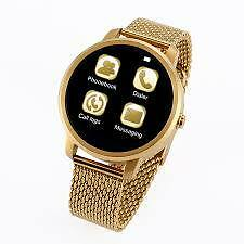 V360 Smart Watch For Android, IOS & SmartPhones Bluetooth 4.0 Gold