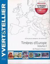 Catalogue Europe 2016 - Vol 4: de Pologne à Russie