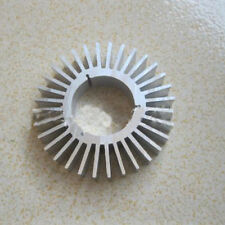 High quality LED Light Cover 6063 Aluminium Heatsink Round Cooing Fin 60mm NEW