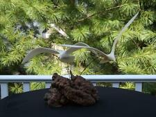 """Vintage Large John Perry Seagull Mobile Sculpture  14"""" Wingspan"""