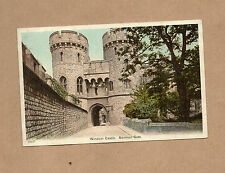 Windsor Castle Norman Gate tinted card  unposted  BR1