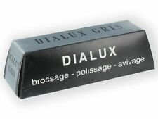 Jewellers Dialux Grey Gris Bar Polishing Compound Polish Stainless Steel T890018