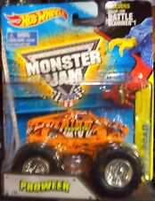2015 Hot Wheel Monster Jam Prowler  With Battle Slammer Combine Shipping