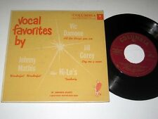 45rpm EP w/Jacket GENERAL ELECTRIC/MR. POWERMITE Vocal Favorites By V.1 COLUMBIA
