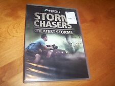 STORM CHASERS GREATEST STORMS Tornado Chaser Tornadoes Discovery Channel DVD NEW